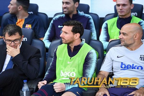Alasan Kenapa Messi Dicadangkan Valverde