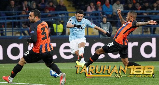 Manchester City Bungkam Shakhtar Donetsk 3-0