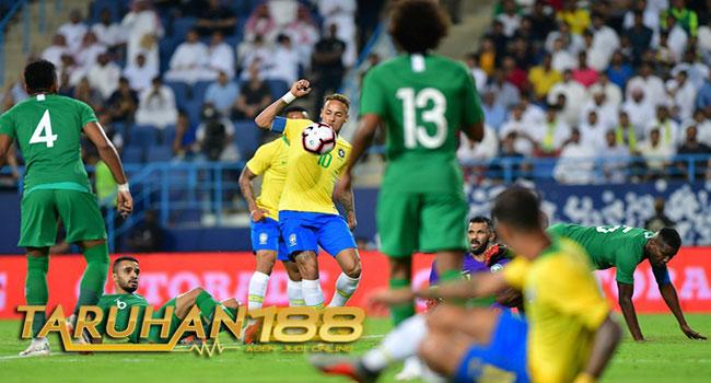 Timnas Brasil Gasak Timnas Arab Saudi