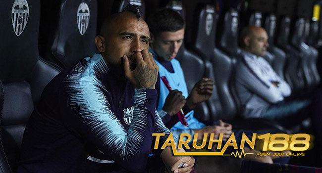 Vidal Lebih Sering Membela Timnas Daripada Klub