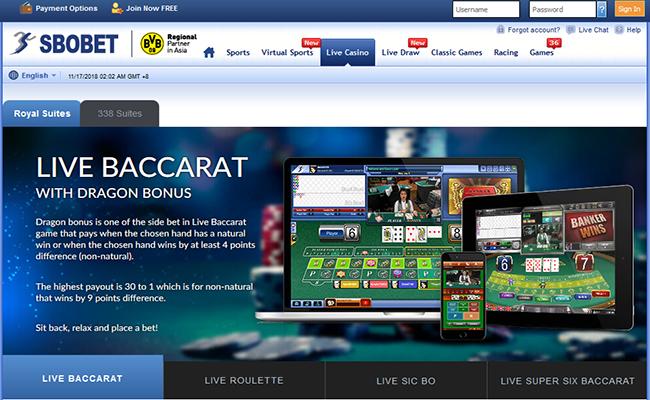 SBOBET CASINO - Daftar Casino Online Terpercaya