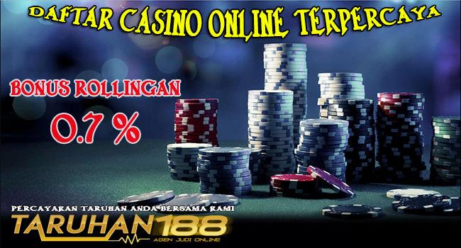 Daftar Casino Online Terpercaya